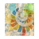 Graphic Abstract 3 Giclee Print by Greg Simanson