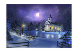 Dash to Candlight Giclee Print by Joel Christopher Payne