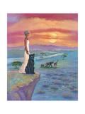 African Queen Giclee Print by Judy Mastrangelo