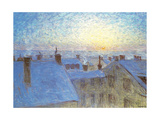 Soluppgang over Taken Giclee Print by Eugene Jansson