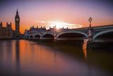 Westminster Fotografisk trykk av Giuseppe Torre
