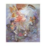 Fairy Revels Lámina giclée por Judy Mastrangelo