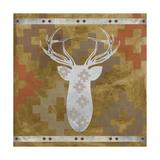 Deer Rack Giclee Print by Erin Clark