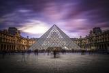 Louvre I Fotografisk trykk av Giuseppe Torre