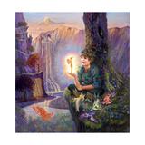 Foreverland Lámina giclée por Judy Mastrangelo