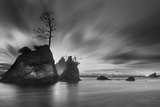Three Rocks Photographic Print by Moises Levy