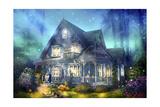 Halloween Lane Giclee Print by Joel Christopher Payne