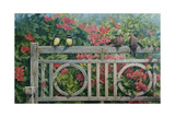 Park Bench Giclee Print by Michael Jackson