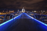Millennium Bridge Photographic Print by Giuseppe Torre