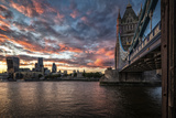 Tower Bridge 1 Photographic Print by Giuseppe Torre