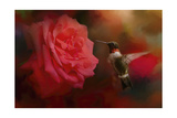 After the Big Rose Giclee Print by Jai Johnson