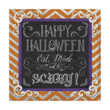 Happy Halloween Giclee Print by Fiona Stokes-Gilbert