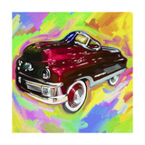 Pop Art Kiddie Car Giclee Print by Howie Green