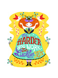 Hard Work Giclee Print by Gaia Marfurt