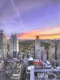 Amanecer Otonal en Central Park Vertical Photographic Print by Moises Levy