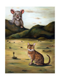 My Cat's Worst Nightmare Giclee Print by Leah Saulnier