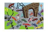 Arc de Triomphe Giclee Print by Pierre Henri Matisse