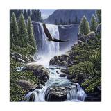 Sanctuary Falls Giclee Print by John Van Straalen