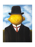Lemon Head Giclee Print by Leah Saulnier