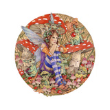 Babysitting Lámina giclée por Linda Ravenscroft