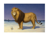 The King's Beer Giclee Print by James W. Johnson