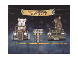 Rat Race 1 Giclee Print by Leah Saulnier
