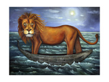 Sea Lion Giclee Print by Leah Saulnier
