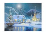 Christmas Eve Giclee Print by Richard Burns