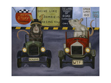 Rat Race 4 Giclee Print by Leah Saulnier