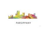 Parsippany New Jersey Skyline Giclee Print by Marlene Watson