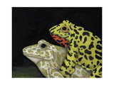 Horny Toads 3 Giclee Print by Leah Saulnier