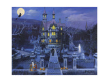 Haunted House Giclee Print by John Zaccheo