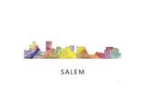 Salem Oregon Skyline Giclee Print by Marlene Watson