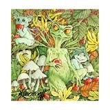 Hobgoblins and Bogeymen Giclee-trykk av Linda Ravenscroft