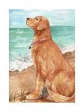 Golden Stay Love Giclee Print by Melinda Hipsher