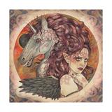 Eclipse Giclee-trykk av Linda Ravenscroft