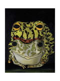 Horny Toads 2 Giclee Print by Leah Saulnier