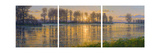 Reflections Triptych Giclee Print by Randy Van Beek