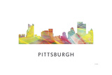 Pittsburgh Pennsylvania Giclee Print by Marlene Watson