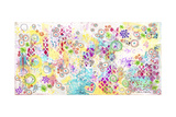 Colorful Chaos - Jennifer Giclee Print by Jennifer McCully