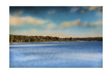 Gibson County Lake in Fall Giclee Print by Jai Johnson