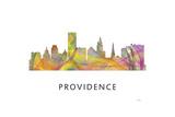 Providence Rhode Island Skyline Giclee Print by Marlene Watson