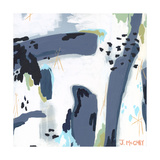 Mystic Fog Abstract Giclee Print by Jennifer McCully