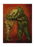 Frogdancers Giclee Print by Leah Saulnier