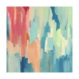 Color Theory Abstract Giclee Print by Jennifer McCully