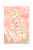 She Will Move Mountains 1 Giclee Print by Kimberly Glover