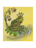 Frog Prince Giclee Print by Judy Mastrangelo
