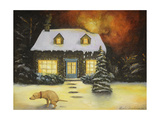 Kinkade's Worst Nightmare Updated X Giclee Print by Leah Saulnier
