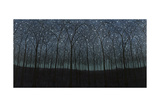 Starry Trees Giclee Print by James W. Johnson