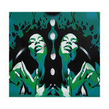 Garden of Eden Giclee Print by  Abstract Graffiti